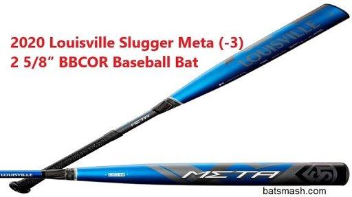 Louisville Slugger 2020 Meta (-3) 2 5/8