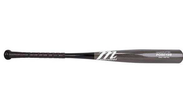 POSEY28 PRO METAL BBCOR BASEBALL BAT MCBP28S BY MARUCCI SPORTS