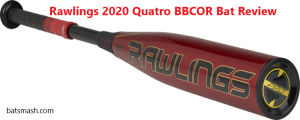 2020 Rawlings Quatro Pro BBCOR Bat Review